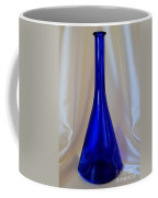Blue Long-necked Bottle Coffee Mug