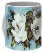 Blue Magnolia Coffee Mug