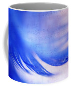 Blue Marvel. Lighten Your Day With Music Coffee Mug