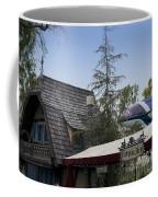 Blue Monorail Fairytale Arts Disneyland Coffee Mug