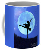Blue Moon Ballerina Coffee Mug