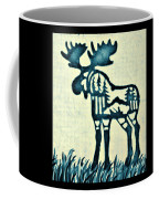 Blue Moose Coffee Mug