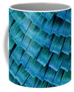 Blue Morpho Wing Scales Coffee Mug