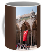 Blue Mosque Courtyard Portico Coffee Mug