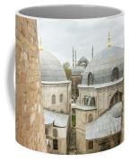 Blue Mosque View From Hagia Sophia Coffee Mug