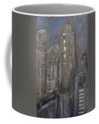 Blue Night Close Up 1 Coffee Mug
