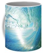Blue Ocean Wave Coffee Mug