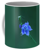Blue On Green Coffee Mug