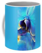 Blue Orchid Macro Coffee Mug