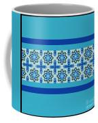 Blue Patchwork 2 Coffee Mug