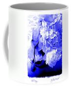 Blue Peony Coffee Mug