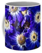 Blue Poem Coffee Mug