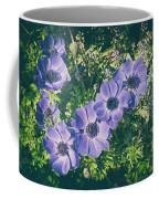 Blue Poppies Blooms Coffee Mug