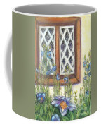 Blue Poppies Of Luss Coffee Mug