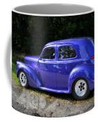 Blue Restored Willy Car Coffee Mug