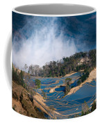 Blue Rice Terrace Coffee Mug