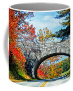 Blue Ridge Autumn Bridge Coffee Mug
