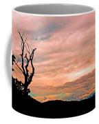Blue Ridge Mountain Sunrise Panoramic  Coffee Mug