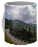 Blue Ridge Mountains And Blue Ridge Parkway Coffee Mug