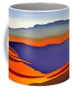 Blue Ridge Mountains East Fall Art Abstract Coffee Mug