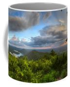 Blue Ridge Mountains Panorama Coffee Mug