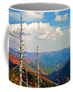Blue Ridge Parkway Art-trees And Mountains Coffee Mug