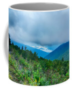 Blue Ridge Parkway National Park Sunrise Scenic Mountains Summer Coffee Mug