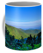 Blue Ridge Parkway National Park Sunset Scenic Mountains Summer  Coffee Mug