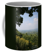 Blue Ridge Parkway Scenic View Coffee Mug
