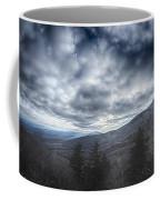 Blue Ridge Parkway Winter Scenes In February Coffee Mug