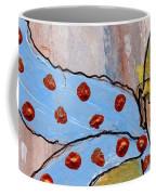 Blue Scarf  Coffee Mug