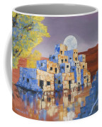 Blue Serpent Pueblo Coffee Mug by Jerry McElroy