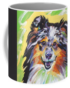 Blue Sheltie Coffee Mug