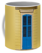 Blue Shutter Door - New Orleans Coffee Mug