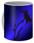 Blue Silhouette Coffee Mug