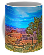Blue Skies And Canyons Coffee Mug