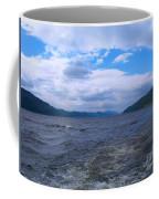 Blue Skies At Loch Ness Coffee Mug