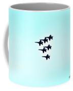 Blue Skies Blue Angels In Hawaii Coffee Mug