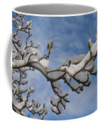 Blue Skies In Winter Coffee Mug by Bill Cannon