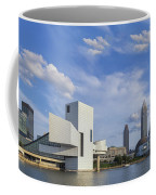 Blue Skies Over Cleveland Coffee Mug