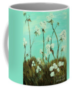 Blue Skies Over Cotton Coffee Mug