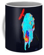 Blue Skulls At Dusk Coffee Mug