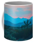Blue Sky Cacti Sunset Coffee Mug
