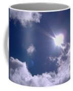 Blue Sky Clouds And Sunshine Coffee Mug