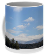 Blue Sky Day In The Adirondacks Coffee Mug