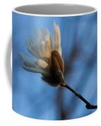 Blue Sky Magnolia Blossom - Dreaming Of Spring Coffee Mug