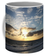 Blue Sky Sunrise Coffee Mug