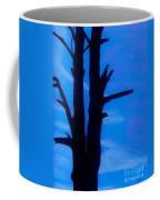 Blue Sky Tree Coffee Mug