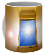 Blue Sky Window Coffee Mug