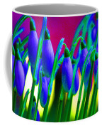 Blue Snowdrops Coffee Mug